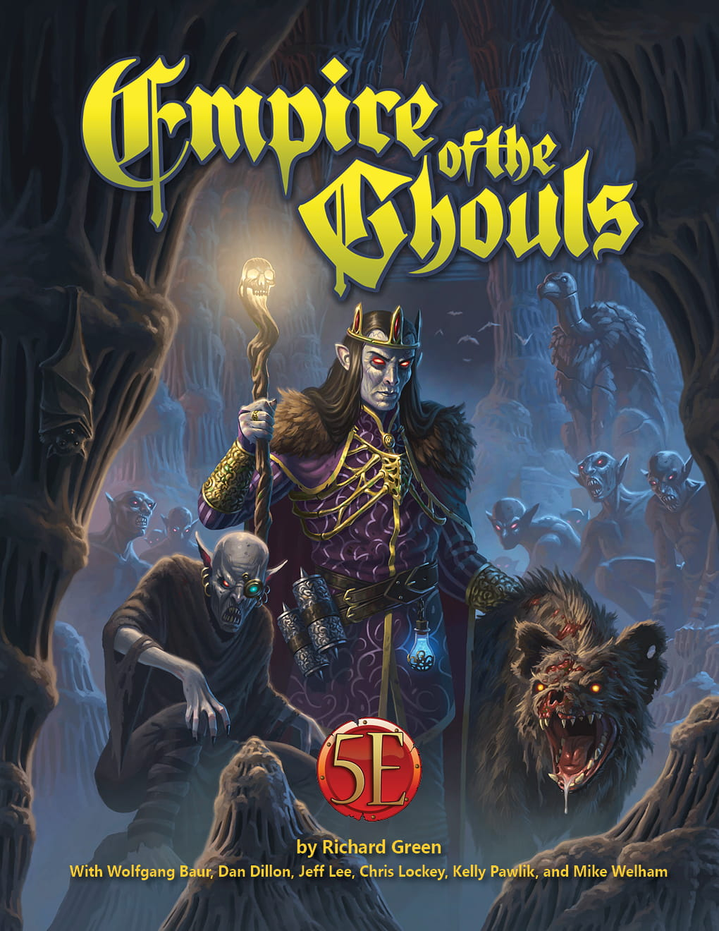 Empire of the Ghouls 5 ed. (Hardcover)