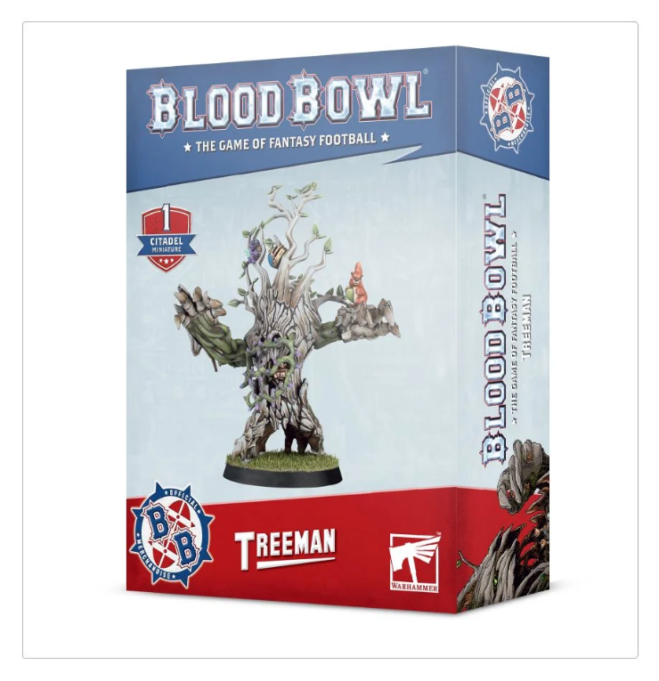 Blood Bowl Treeman (second edition)