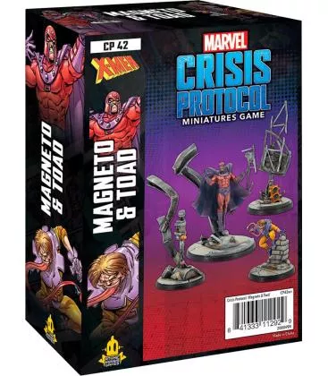 Marvel: Crisis Protocol – Magneto & Toad