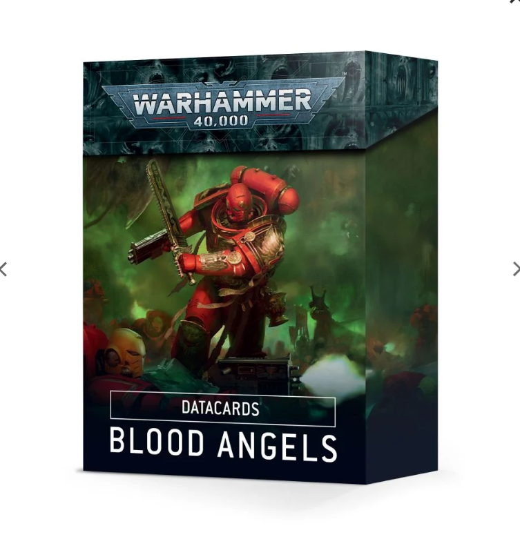 Warhammer 40,000: Datacards - Blood Angels