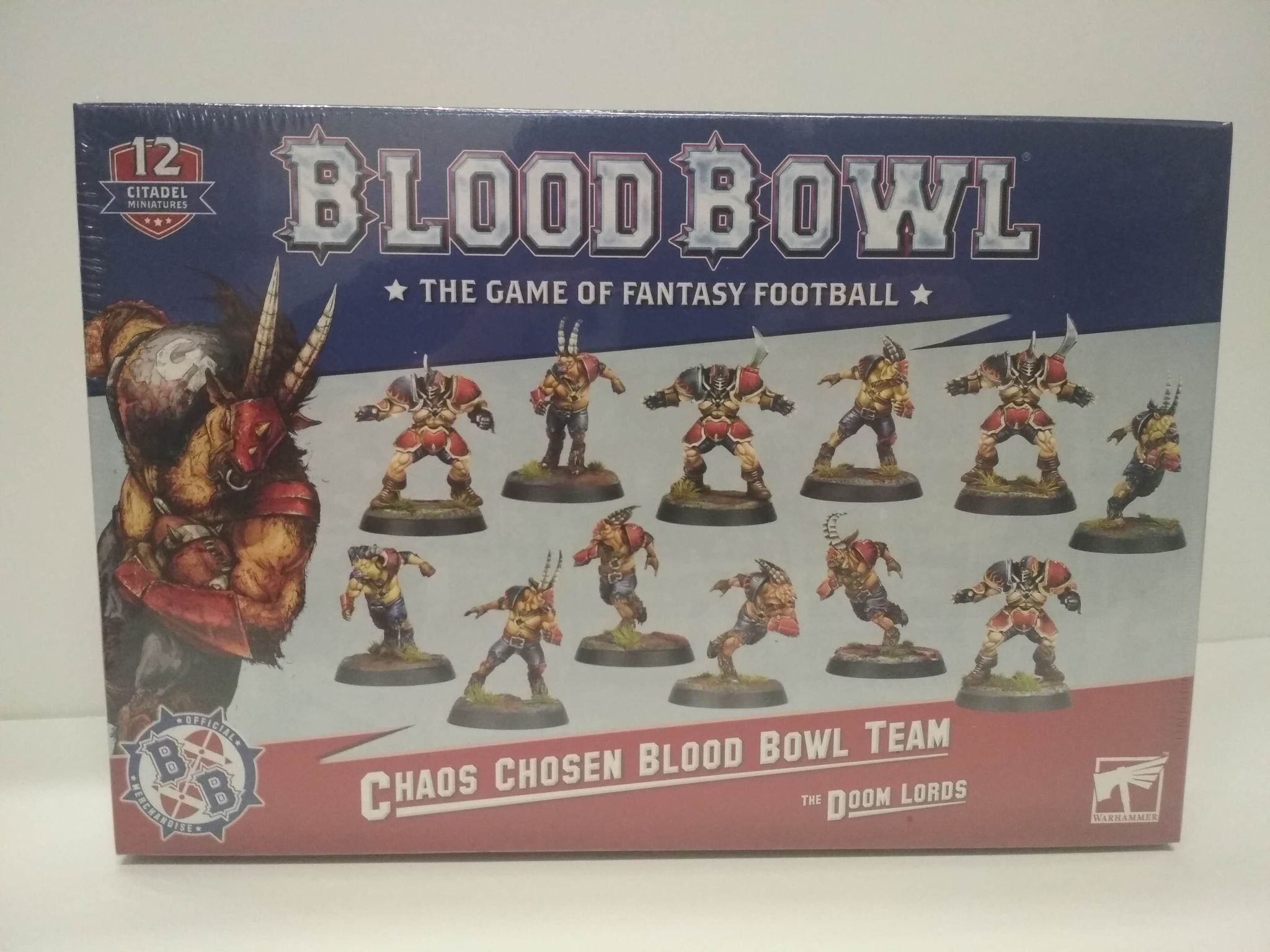 Blood Bowl: The Doom Lords - Chaos Chosen Team (second edition)