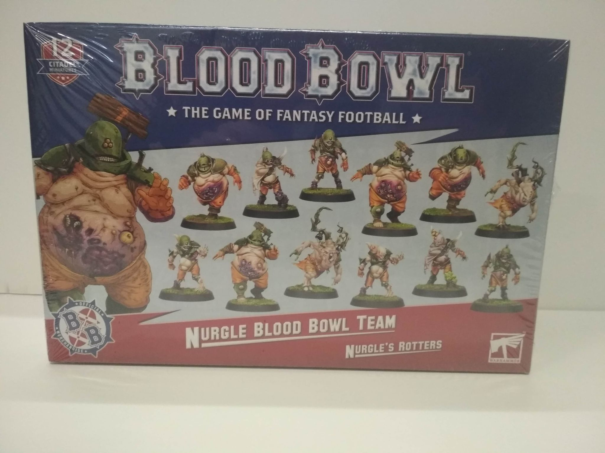 Blood Bowl: Nurgle's Rotters - Nurgle Team (second edition)