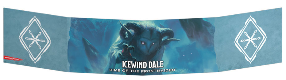 D&D RPG: Icewind Dale - Rime of the Frostmaiden Dungeon Master's Screen (Dungeons and Dragons RPG)