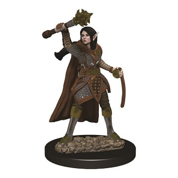 D&D RPG: Icons of the Realms - Premium Painted Miniatures - Female Elf Cleric
