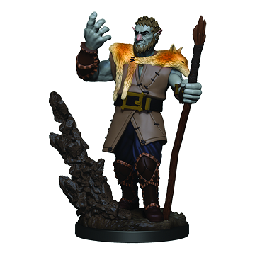 D&D RPG: Icons of the Realms - Premium Painted Miniatures - Male Firbolg Druid