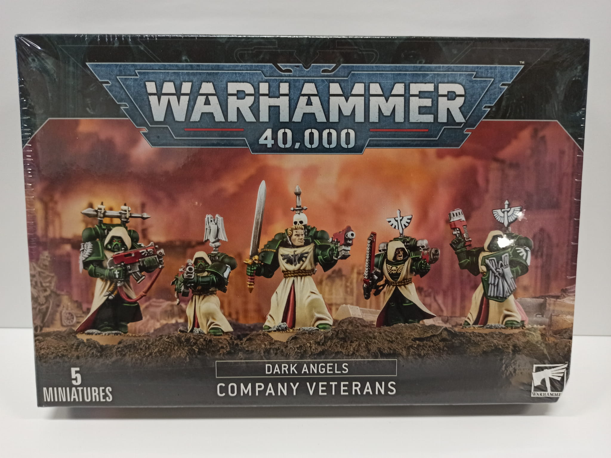 Warhammer 40,000: Dark Angels Company Veterans Squad (9th edition)