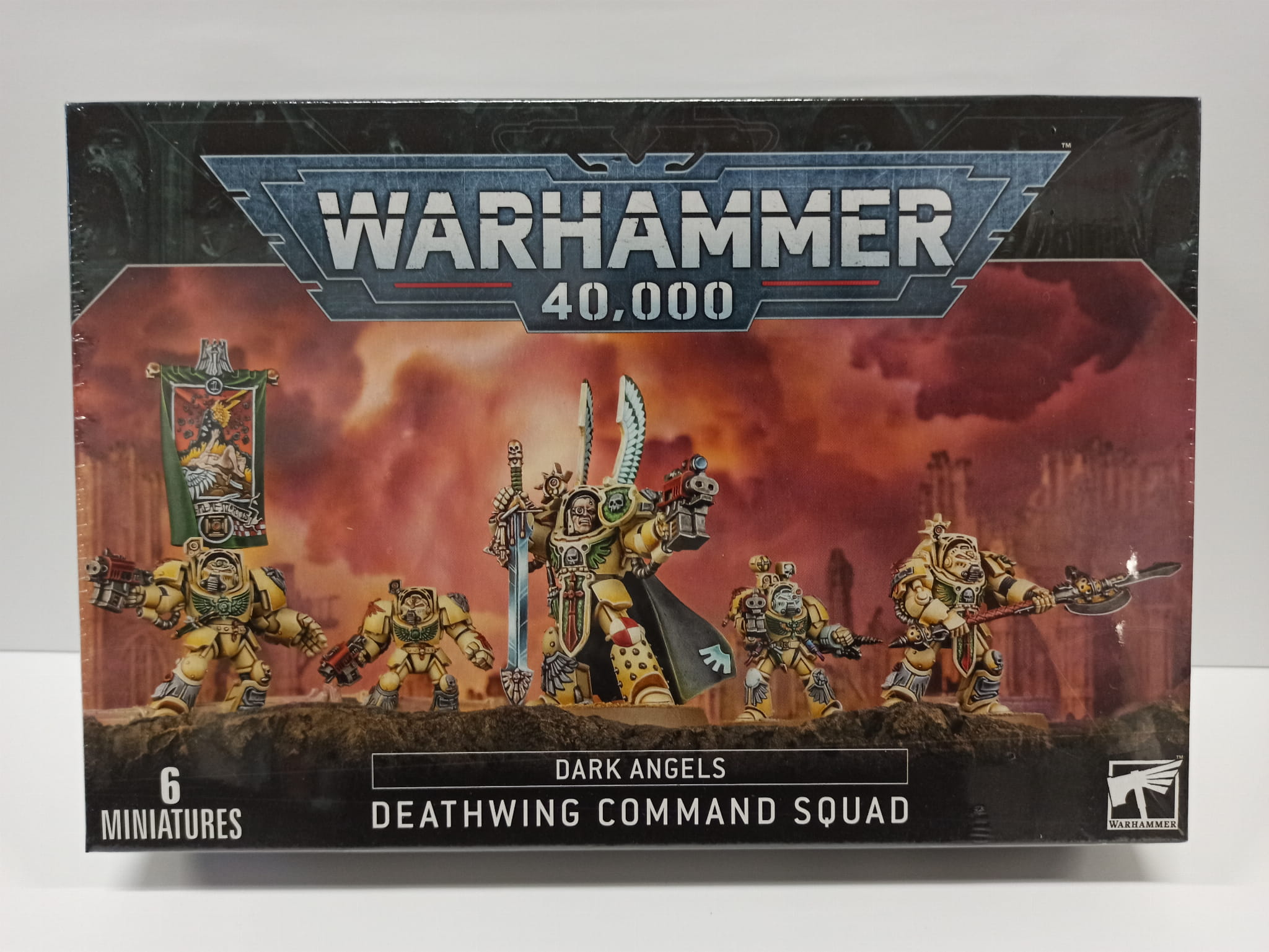 Warhammer 40,000: Dark Angels Deathwing Command Squad (9th edition)