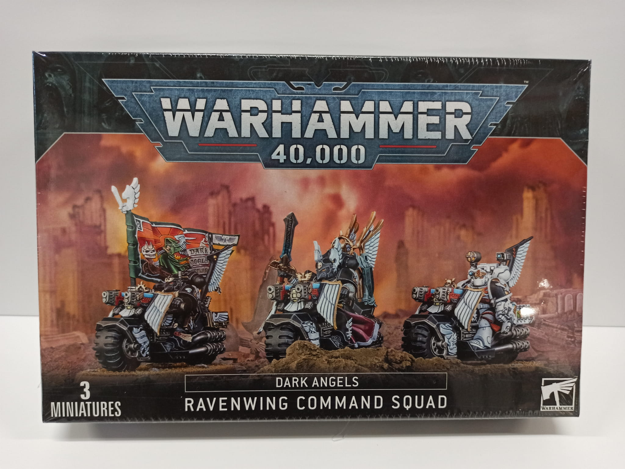 Warhammer 40,000: Dark Angels Ravenwing Command Squadd (9th edition)