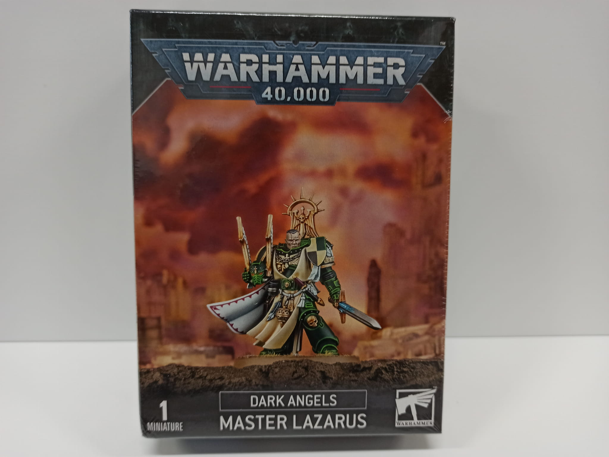 Warhammer 40,000: Dark Angels Master Lazarus (9th edition)