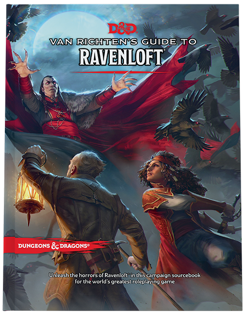 D&D RPG: Van Richten's Guide to Ravenloft (Dungeons and Dragons RPG)