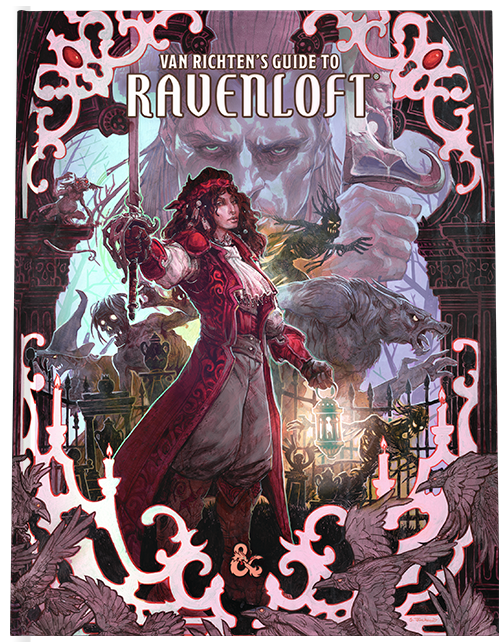 D&D RPG: Van Richten's Guide to Ravenloft (Dungeons and Dragons RPG) (alternative cover)