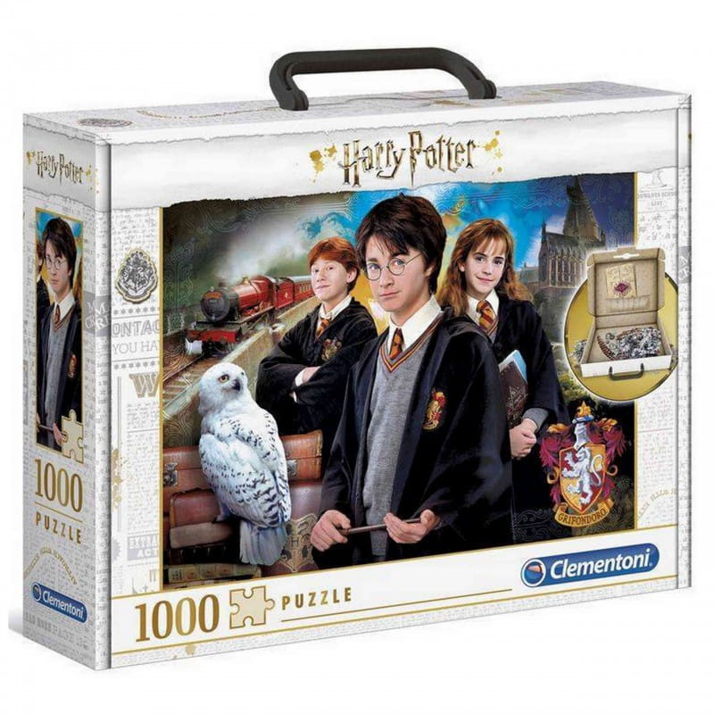 Puzzle 1000 Harry Potter walizka