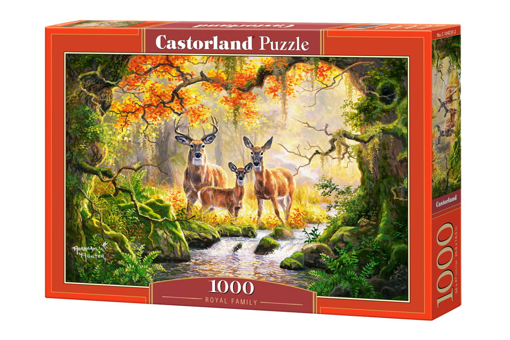 Puzzle 1000 Royal Family