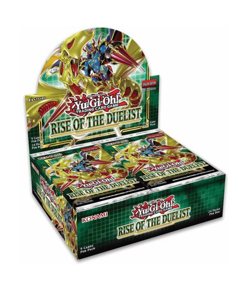 YGO TCG (Yu-Gi-Oh!) Rise of The Duelist Booster