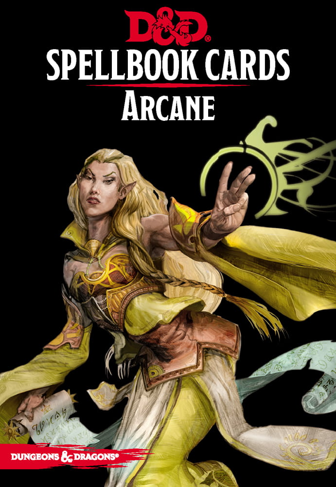 D&D RPG: Spellbook Cards Arcane (2018 edition) (Dungeons and Dragons RPG)
