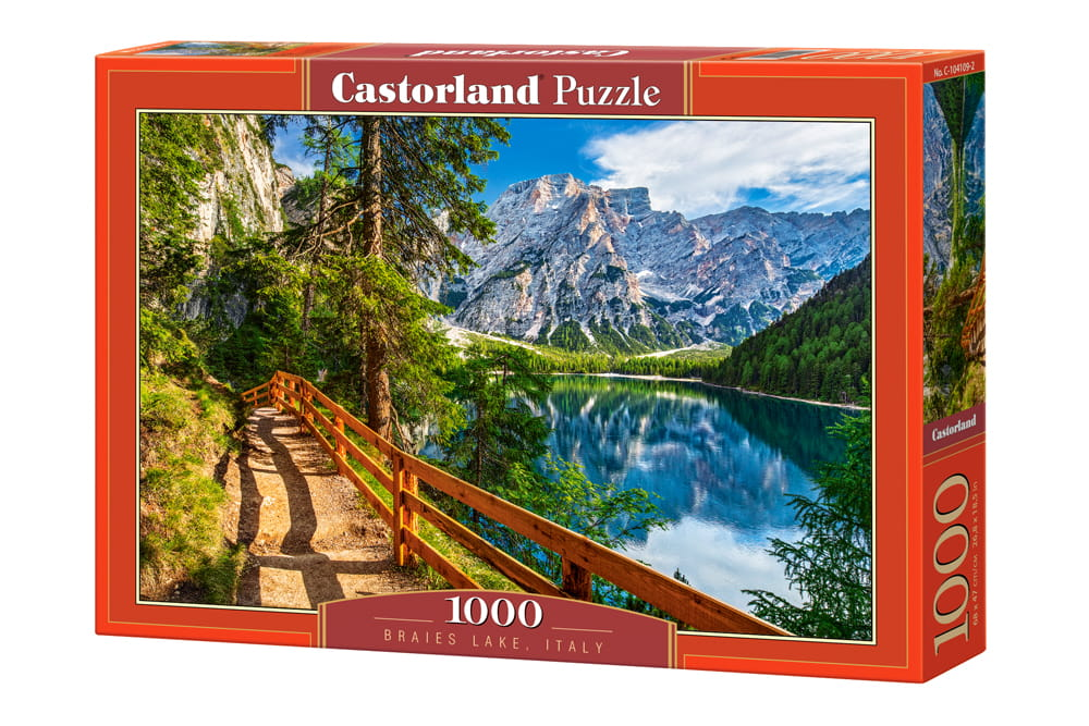 Puzzle 1000 Braies Lake, Italy
