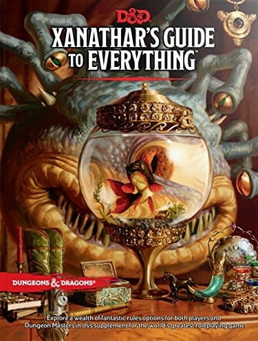D&D RPG:  Xanathar's Guide to Everything (Dungeons and Dragons RPG)